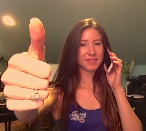Barrett Property Management's Amelia answering the phone when a customer calls