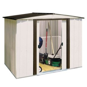 Home Depot's Basic Metal Shed for $218