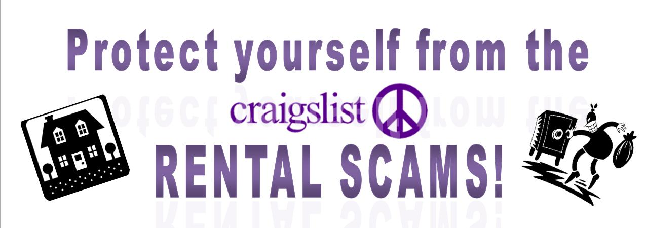 Protect yourself from Craigslist Rental Scams