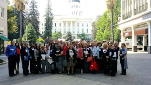 Nevada County Association of Realtors members at the California State Capitol for Legislative Day 2015