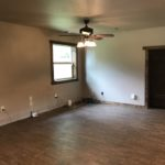 Living/dining areas